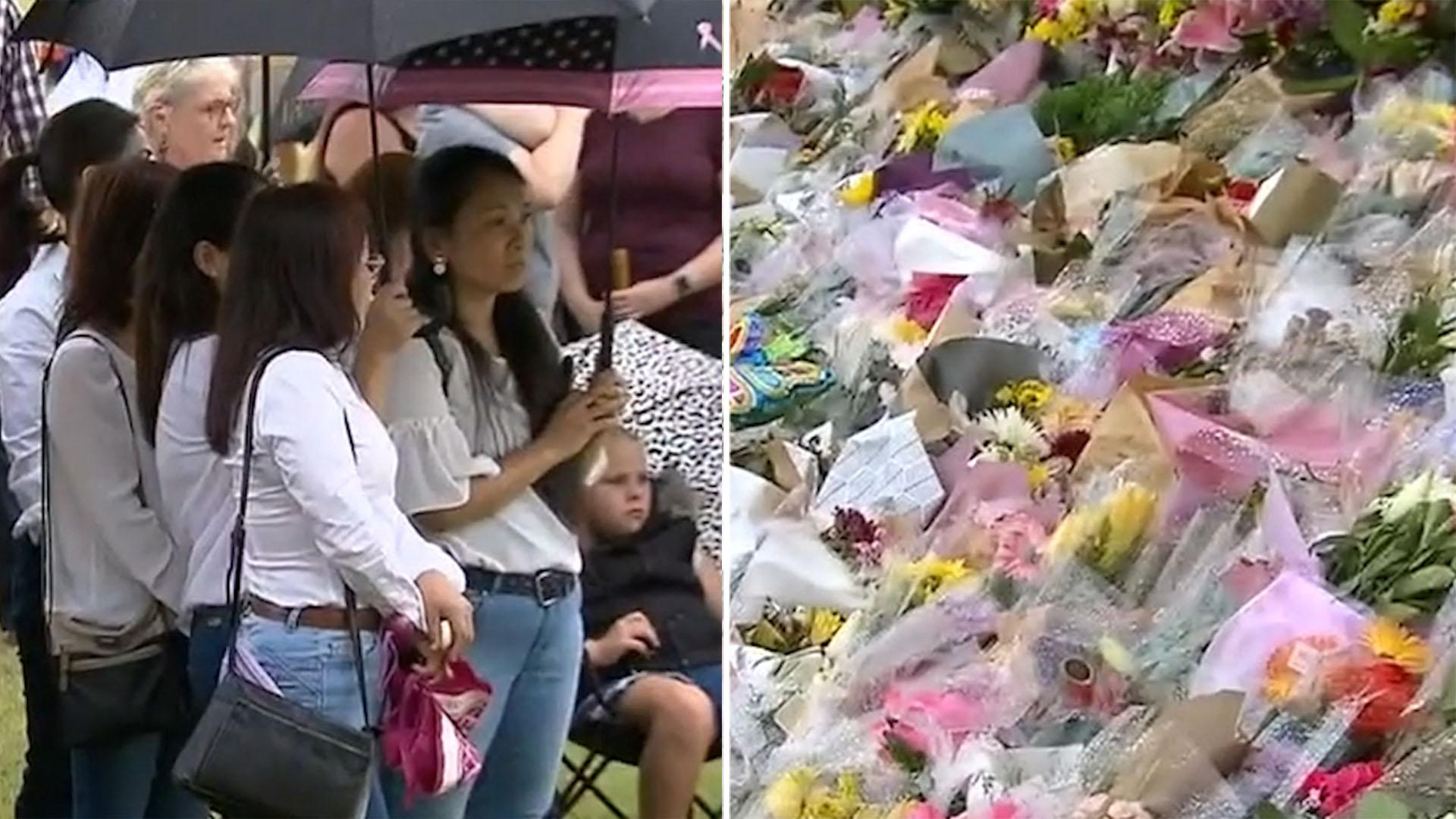 Strangers flock to vigil for Hannah