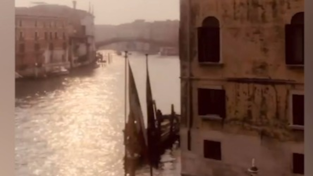 Kate Langbroek reveals Venice has become a ghost town