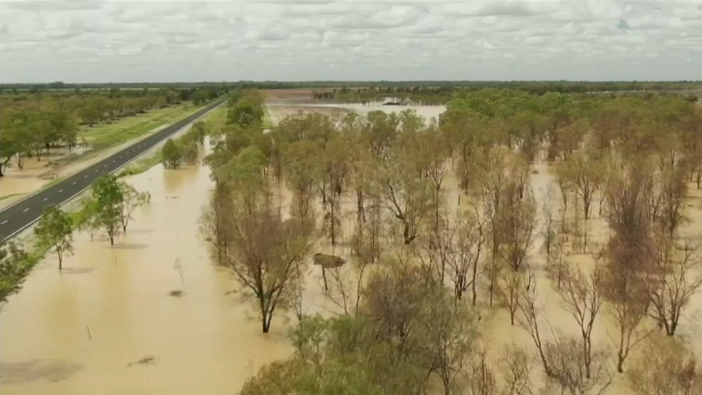 Balonne River flood emergency
