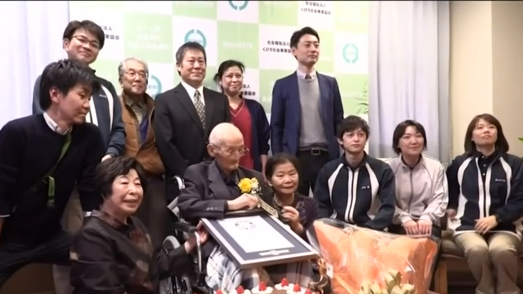 World's oldest living man has died at age 112 in Japan