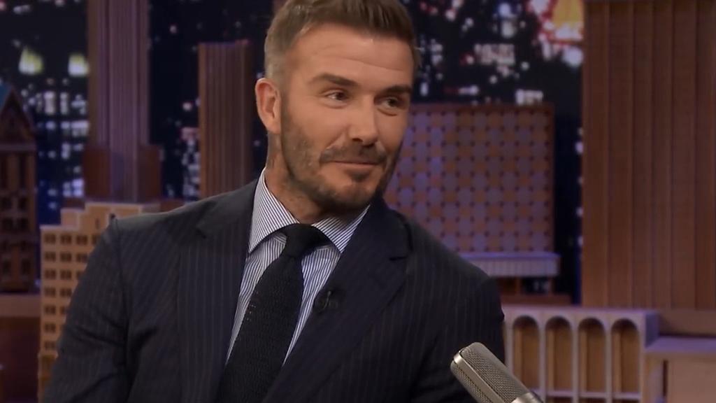 David Beckham reflects on meeting Victoria Beckham