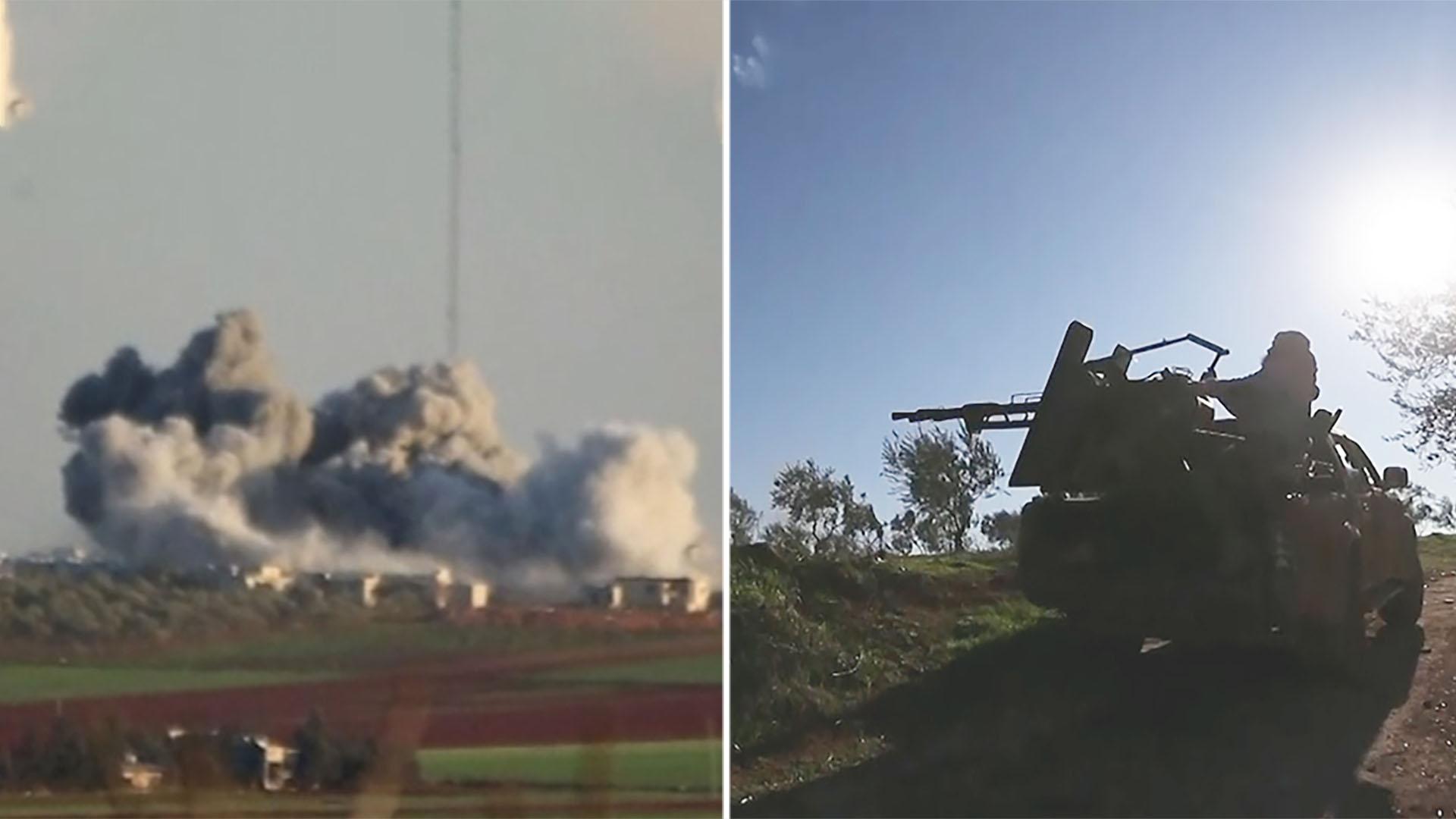 Syrian airstrike on Turkish base kills dozens of soldiers