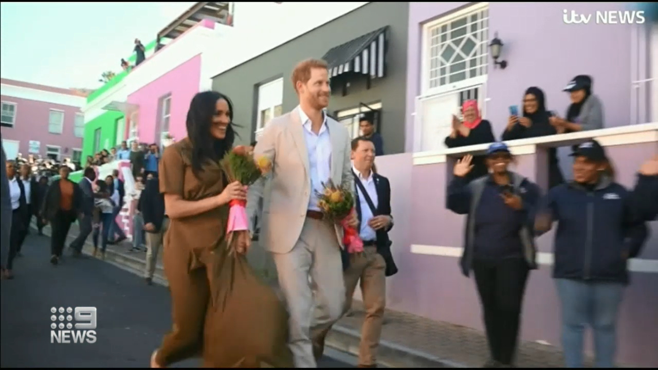 Harry and Meghan lose protection