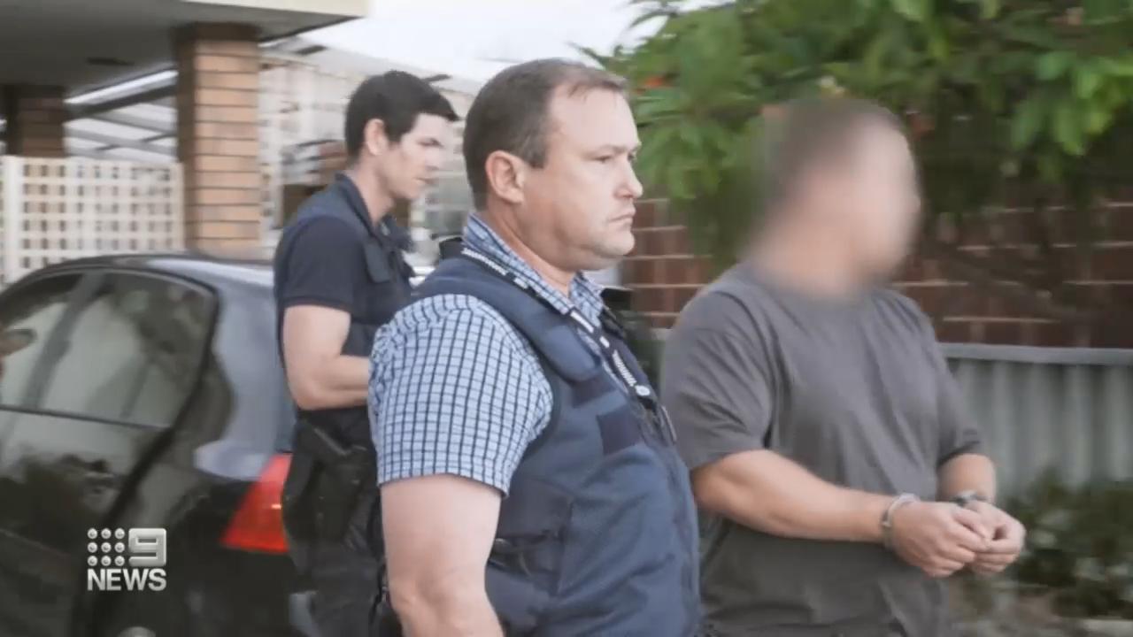 Police swoop in on accused gun runner