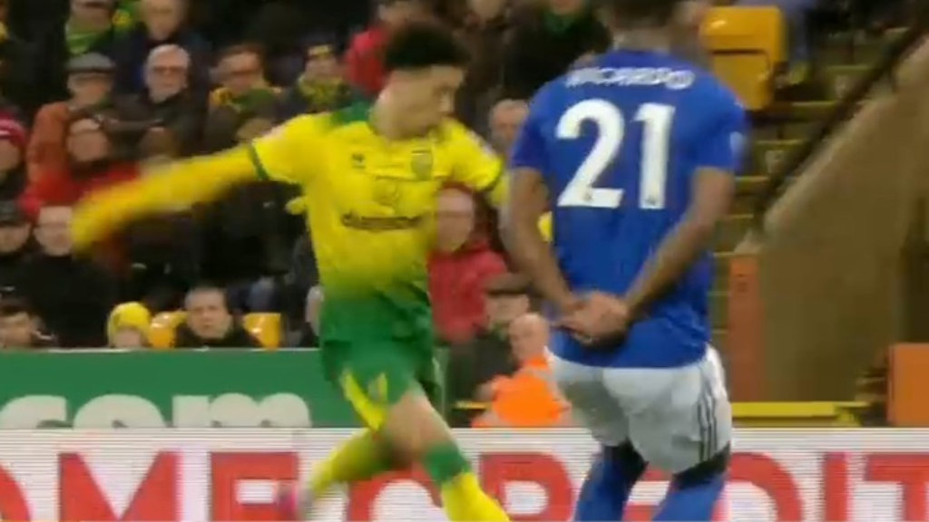 Norwich upset Leicester City