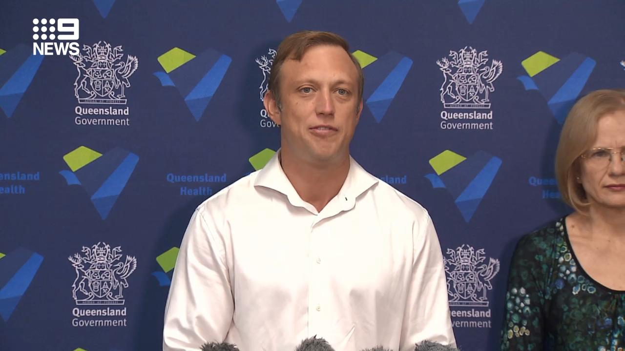 Queensland health authorities speak on the recent coronavirus case on the Gold Coast