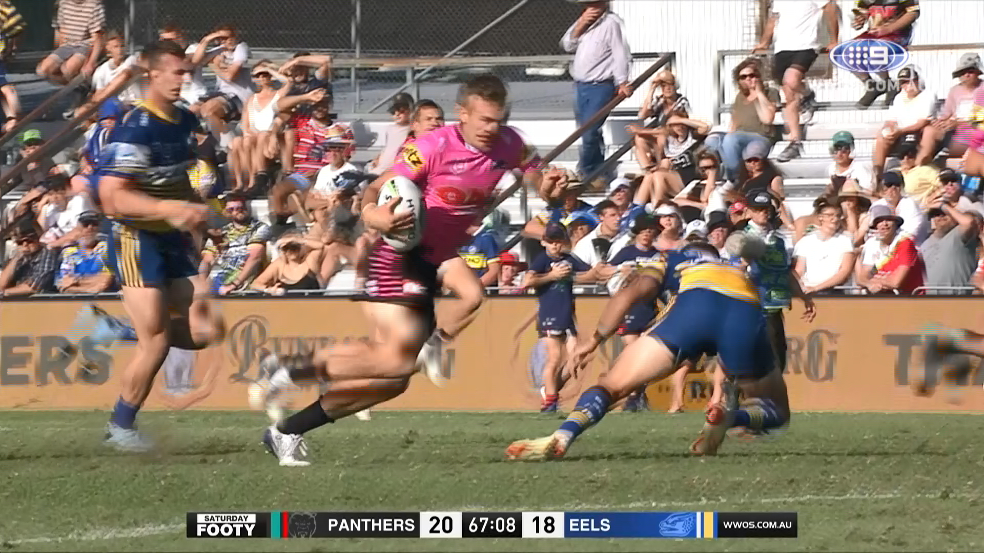 Bushfire Appeal Trial Match - Penrith Panthers v Parramatta Eels