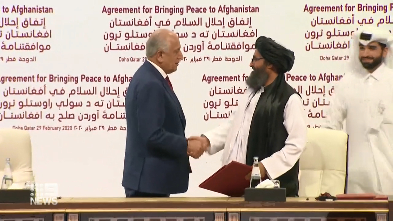 US and Taliban agree to peace terms
