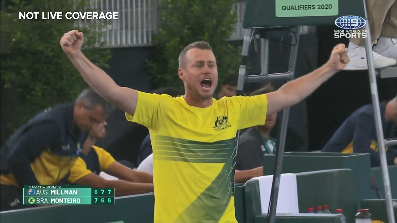 Millman takes Aussies to Davis Cup Finals