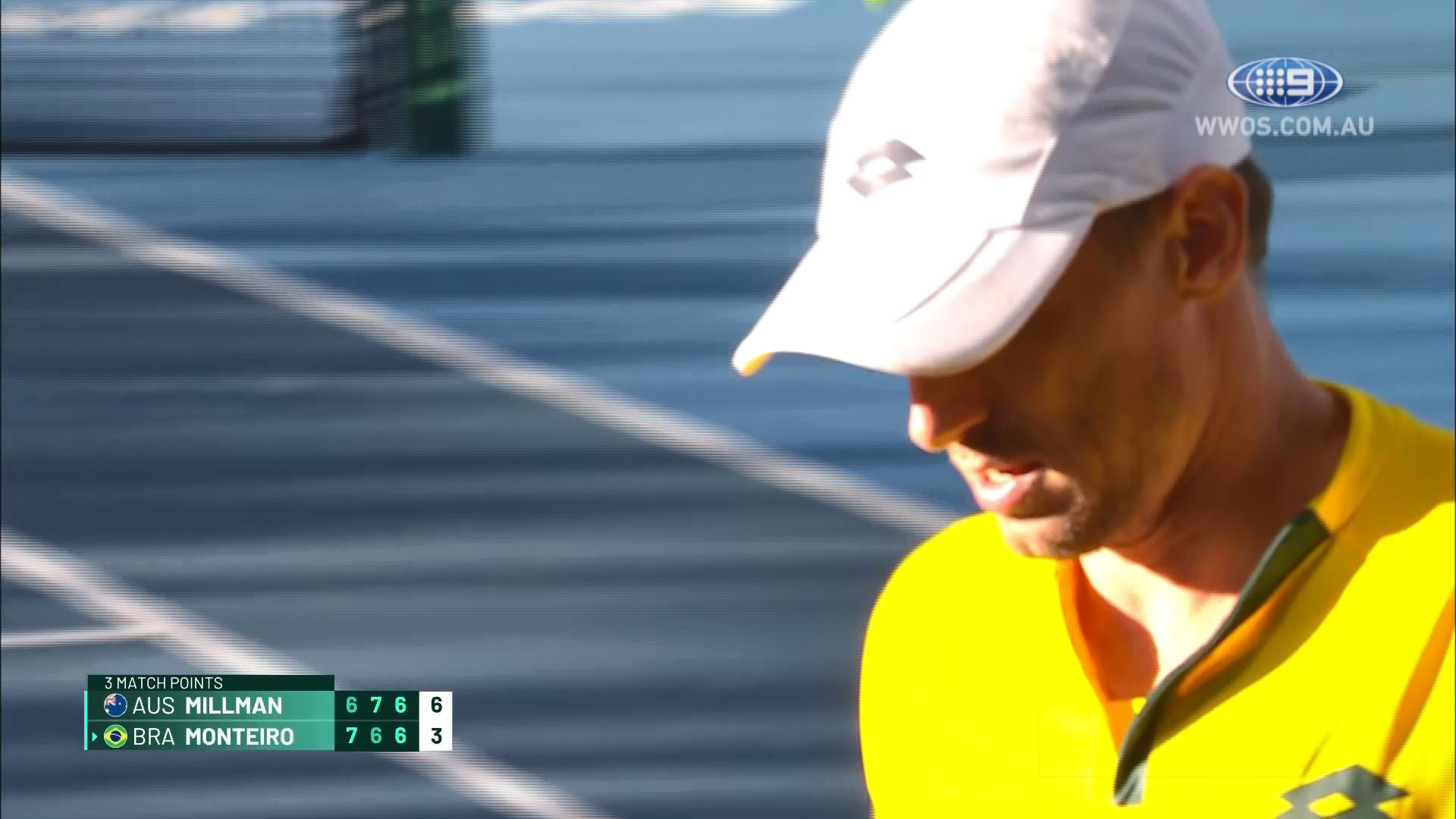 Davis Cup Qualifiers 2020: Millman v Monteiro