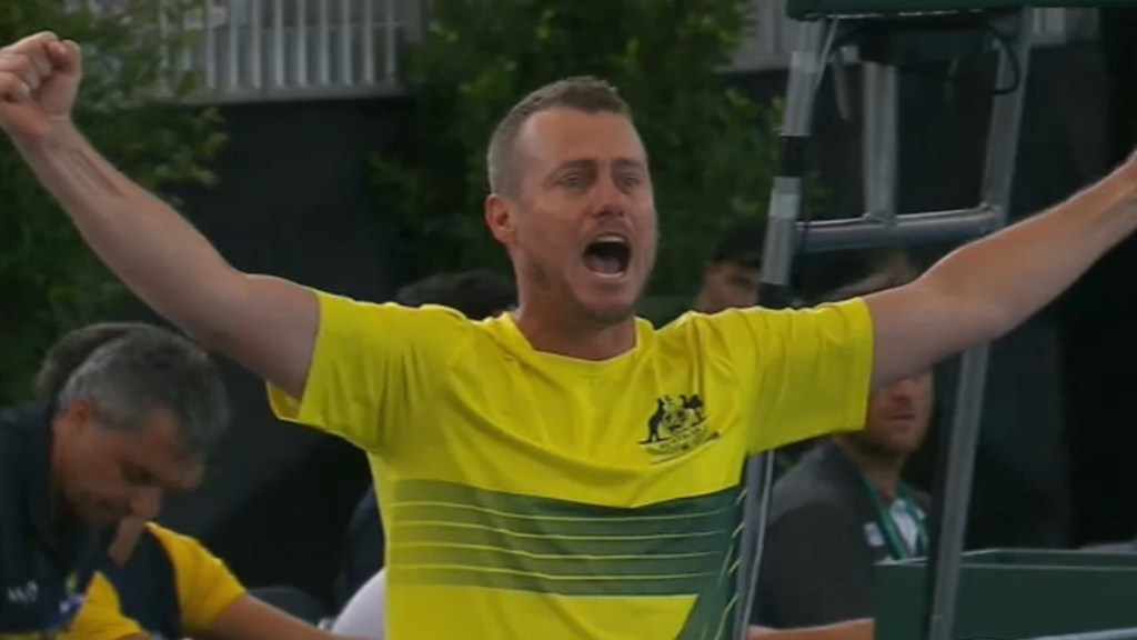 Aussies reach Davis Cup finals