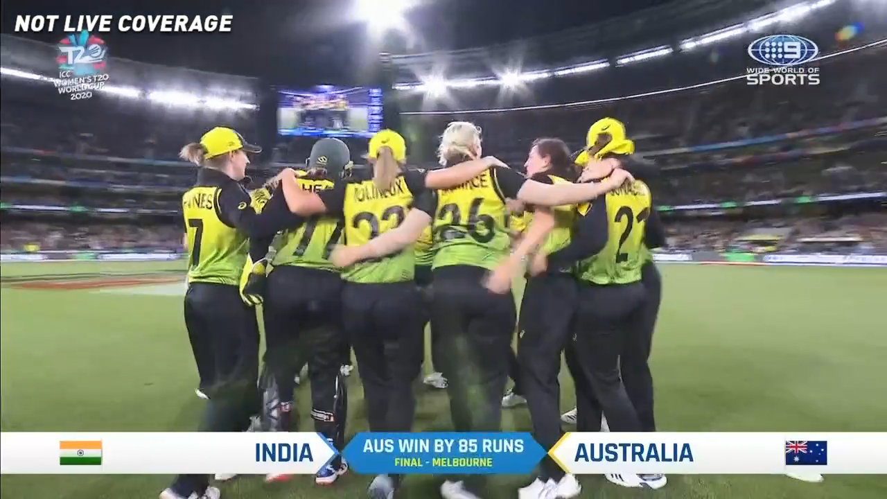 Australia claims Women's T20 World Cup title