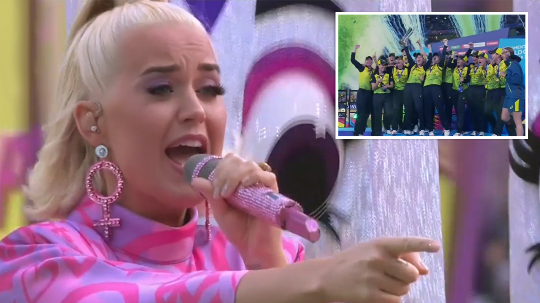 Katy Perry performs 'Firework' at ICC Women's T20 World Cup 2020