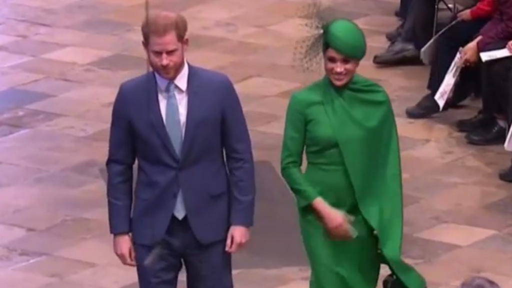 Prince Harry and Meghan bid farewell to royal duties
