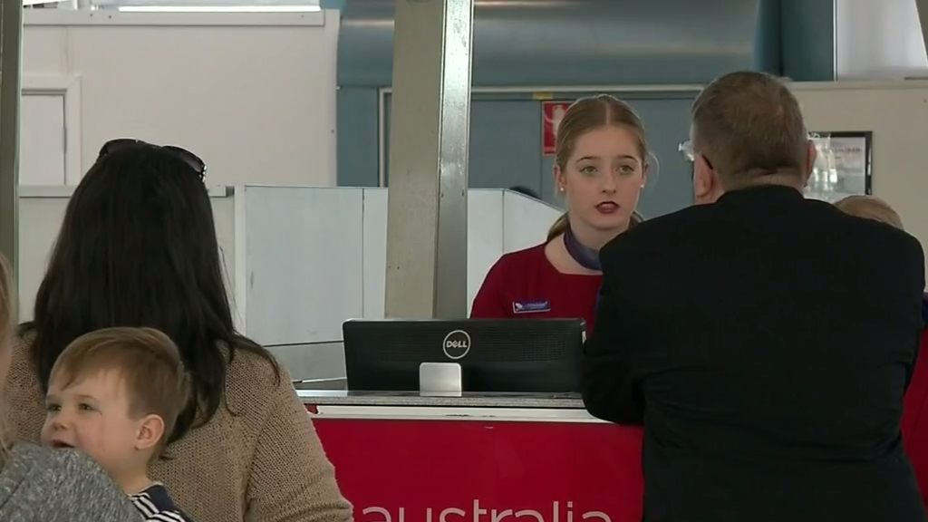 Virgin services cut, cabin worker infected