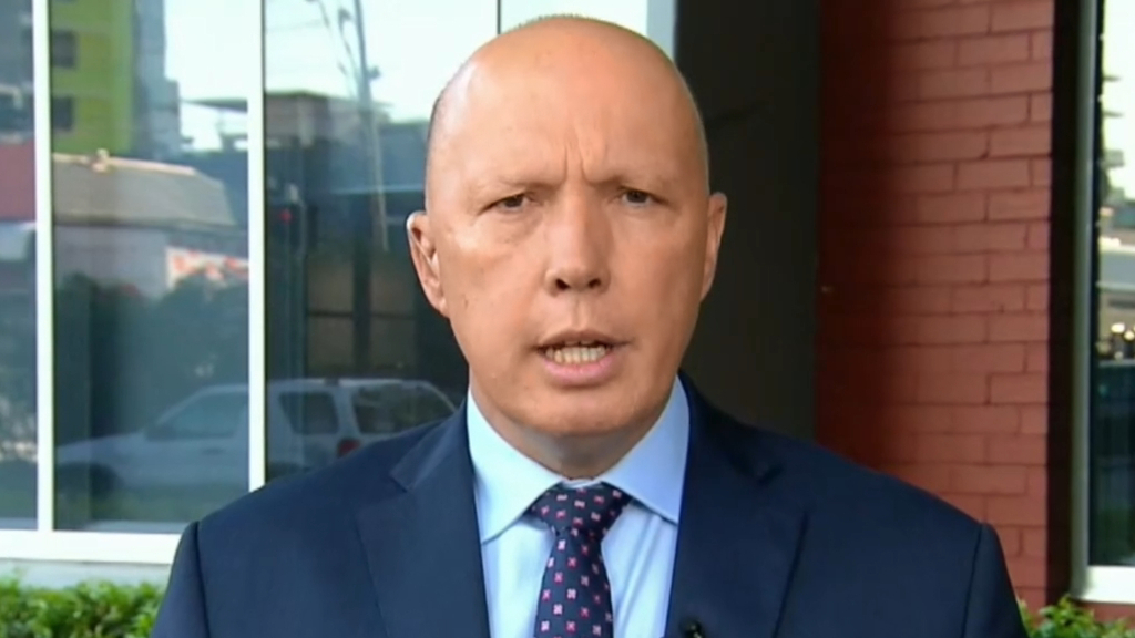 Home Affairs Minister Peter Dutton diagnosed with coronavirus