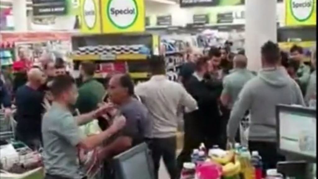 'Aggressive' scenes as hundreds queue outside supermarkets for dedicated elderly shopping hour