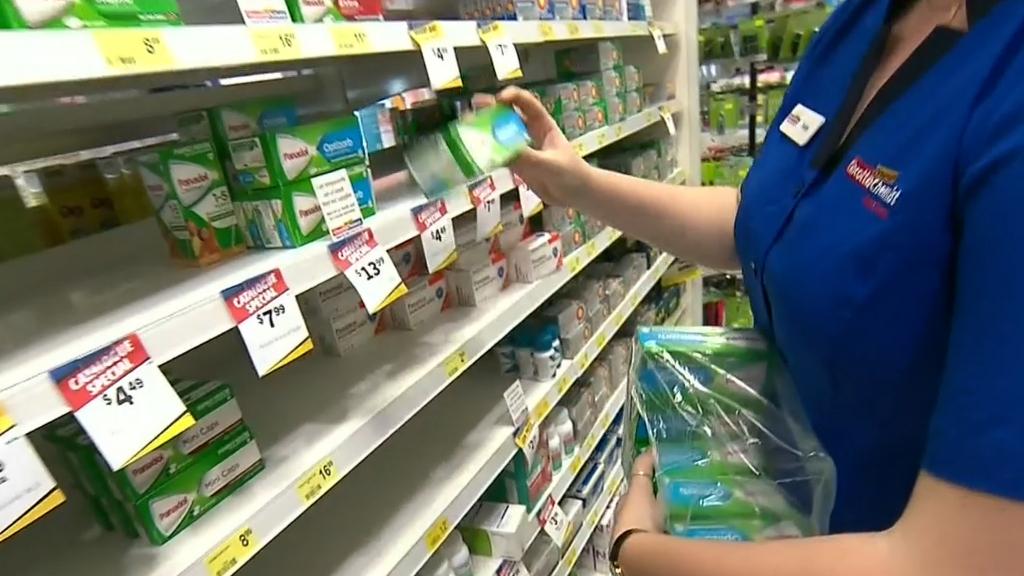 Coronavirus: Pharmacy panic buying