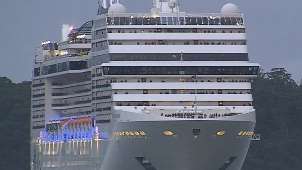 Cruise ship responsible for jump in Australia coronavirus cases
