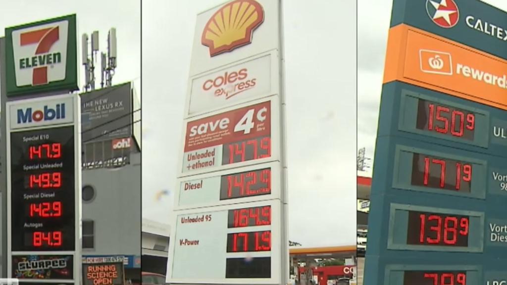 Coronaviurs: Petrol price spike