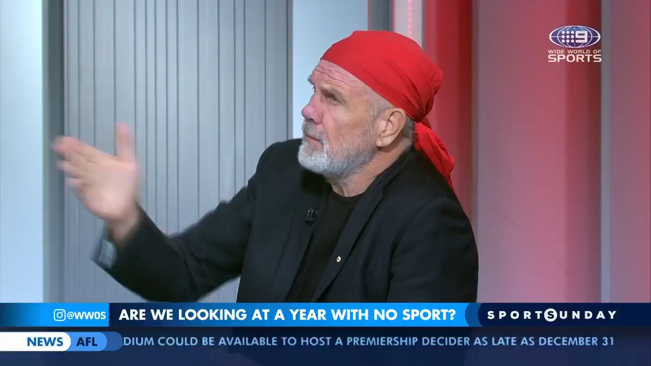 Peter FitzSimons roasts the NRL for taking too long to suspend the season