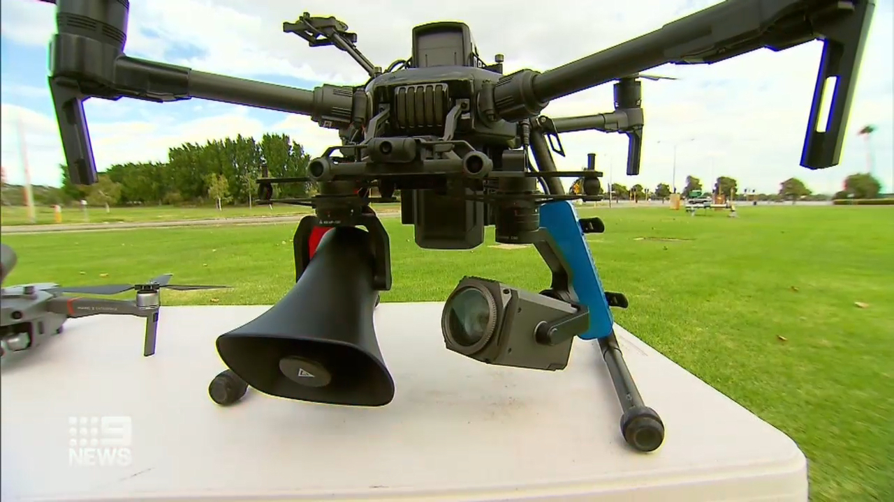 Coronavirus: Police drones to crackdown on restrictions