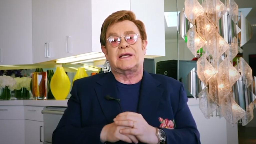 Coronavirus: Elton John announces he's raised $1 million