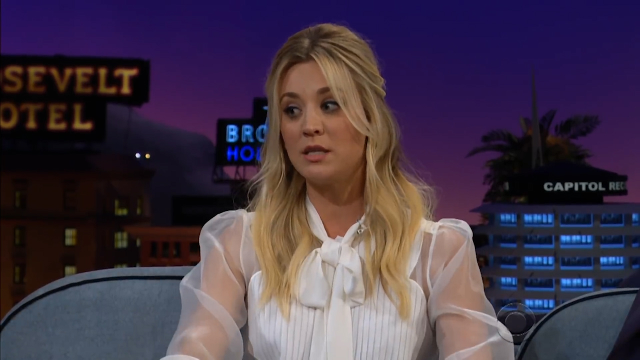 Kaley Cuoco's rescue pony had cold feet at her wedding