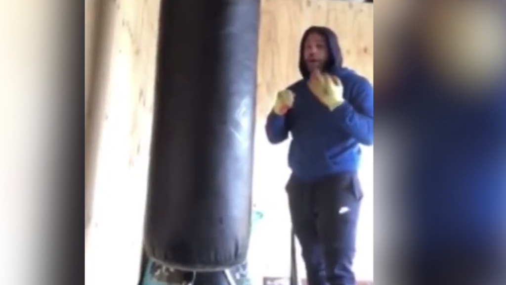 Boxer suspended for appalling video