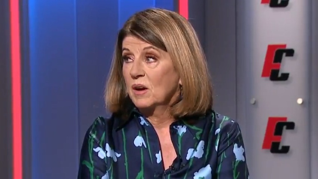 Caroline Wilson hits out at AFLPA boss and player manger Liam Pickering