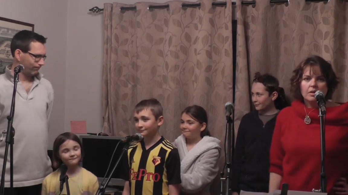 Marsh family from Kent, UK on their viral coronavirus Les Miserable parody