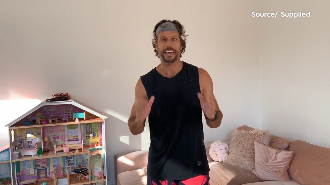 Sam Wood's tips for working out at home