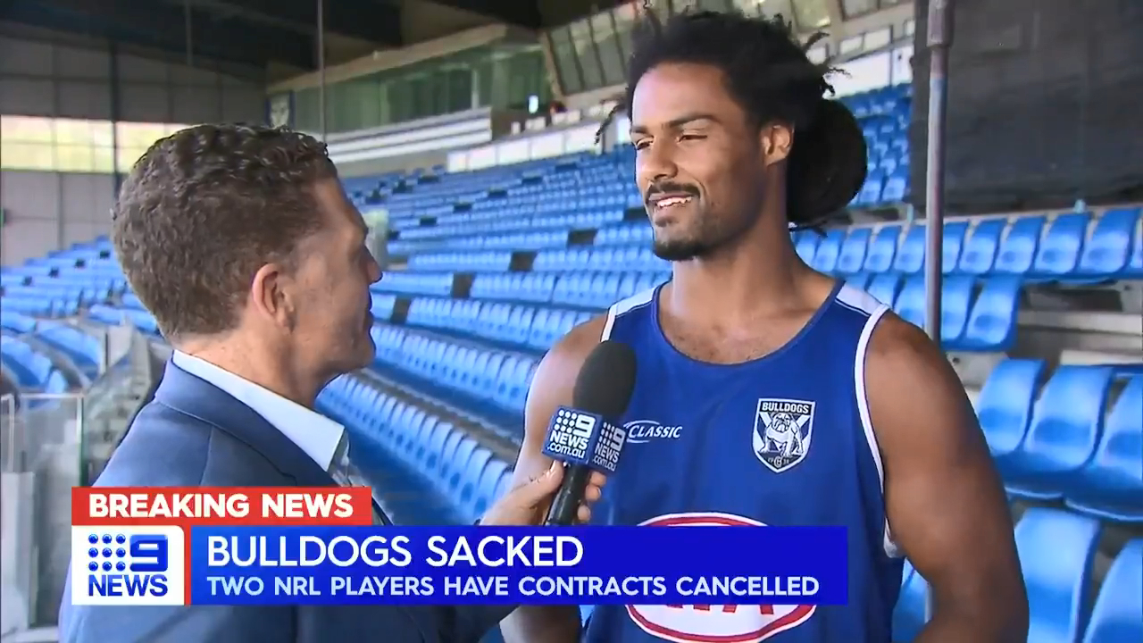 Bulldogs duo deregistered over schoolgirl scandal