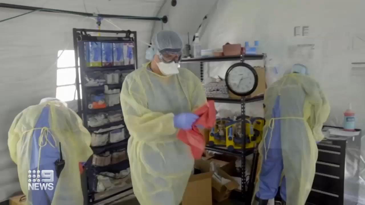 Coronavirus: New York prepares for peak in cases
