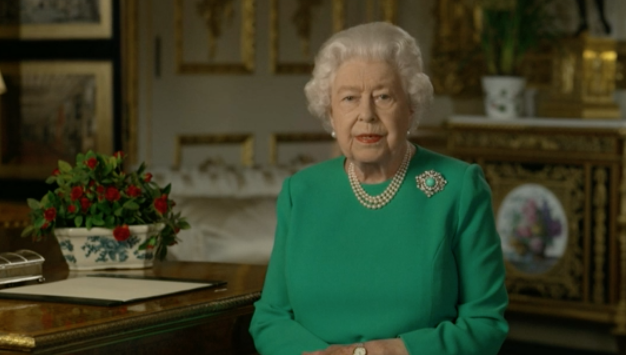 Coronavirus: The extraordinary lengths to keep the Queen safe during her speech