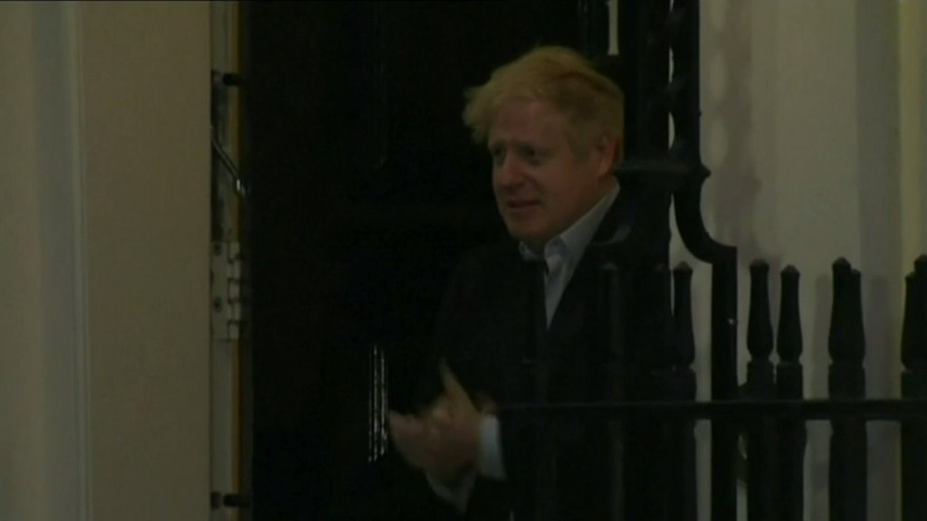 British PM Boris Johnson hospitalized with COVID-19