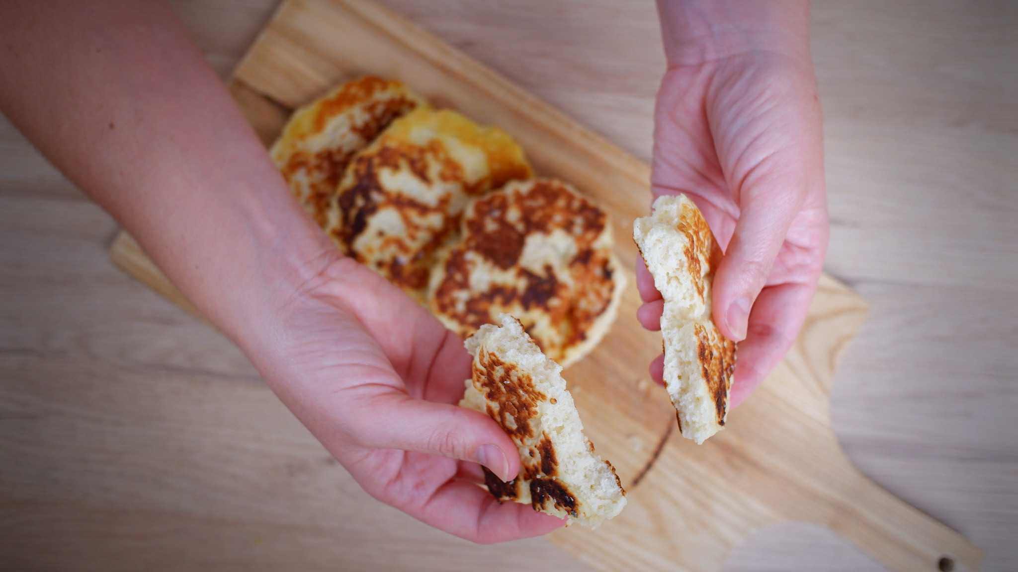 9Honey's Quarantine Kitchen cook-along: two-ingredient flatbread
