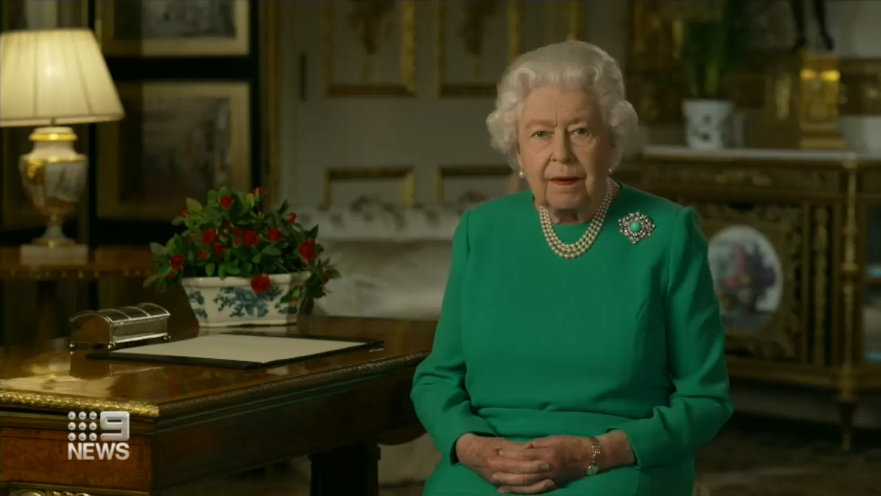 Coronavirus: Queen Elizabeth gives rare address