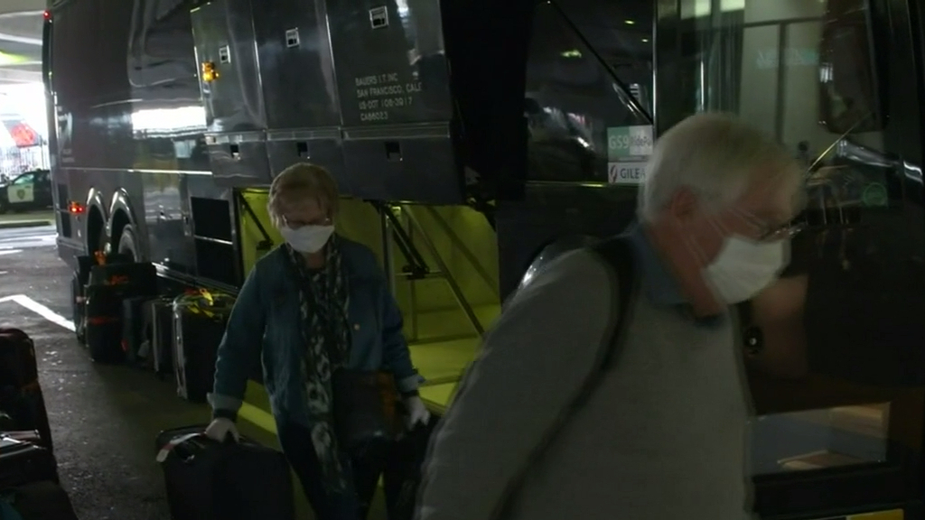 Coronavirus: Australians returned home