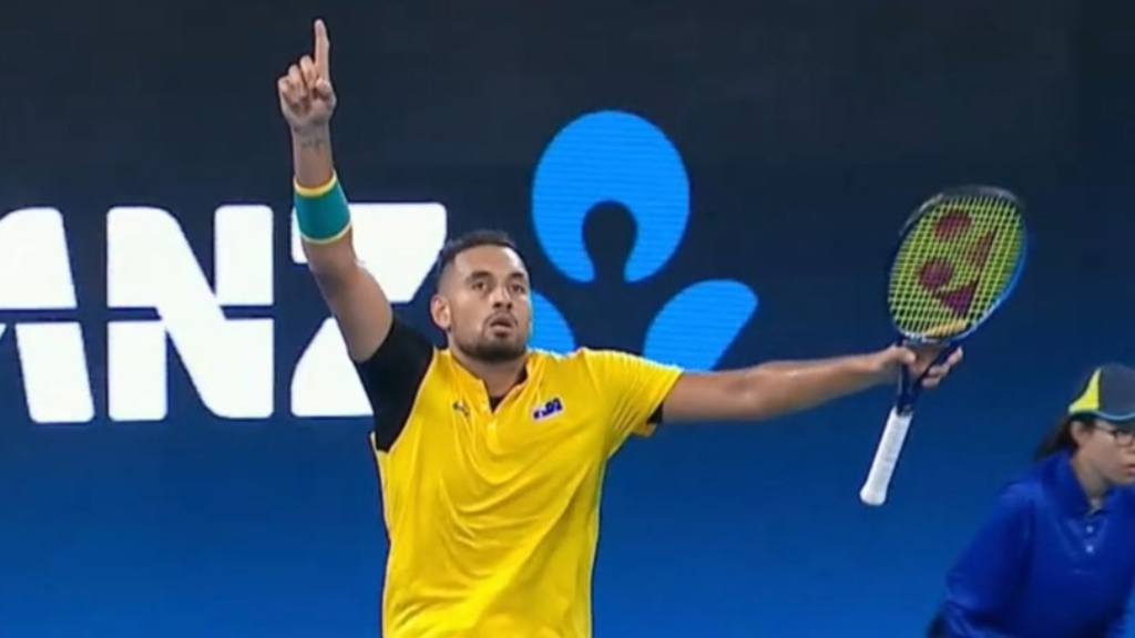 Kyrgios' heartwarming offer of help
