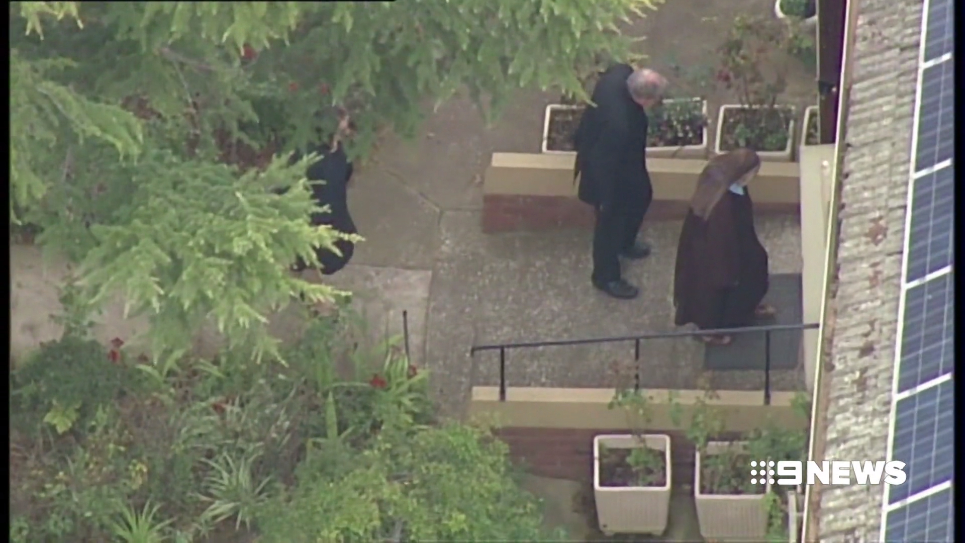 George Pell arrives at Carmelite Monastery in Melbourne after leaving prison