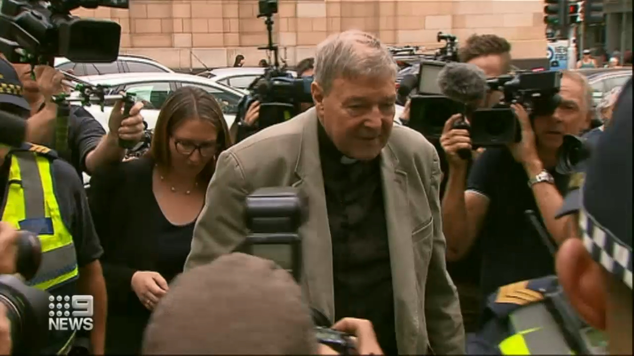 Pell welcomed back into church