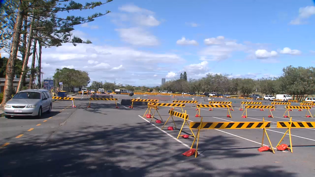 Coronavirus: Beachside carparks closed on Gold Coast
