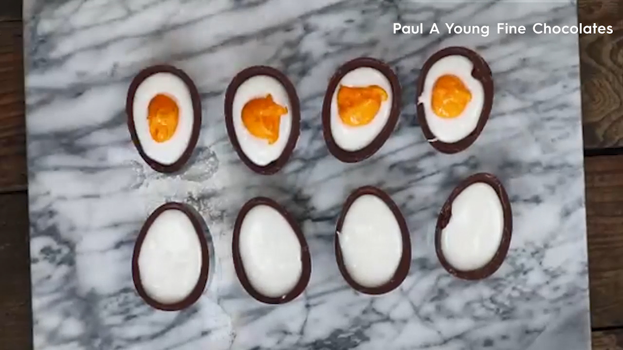 How to make five ingredient crème eggs for Easter