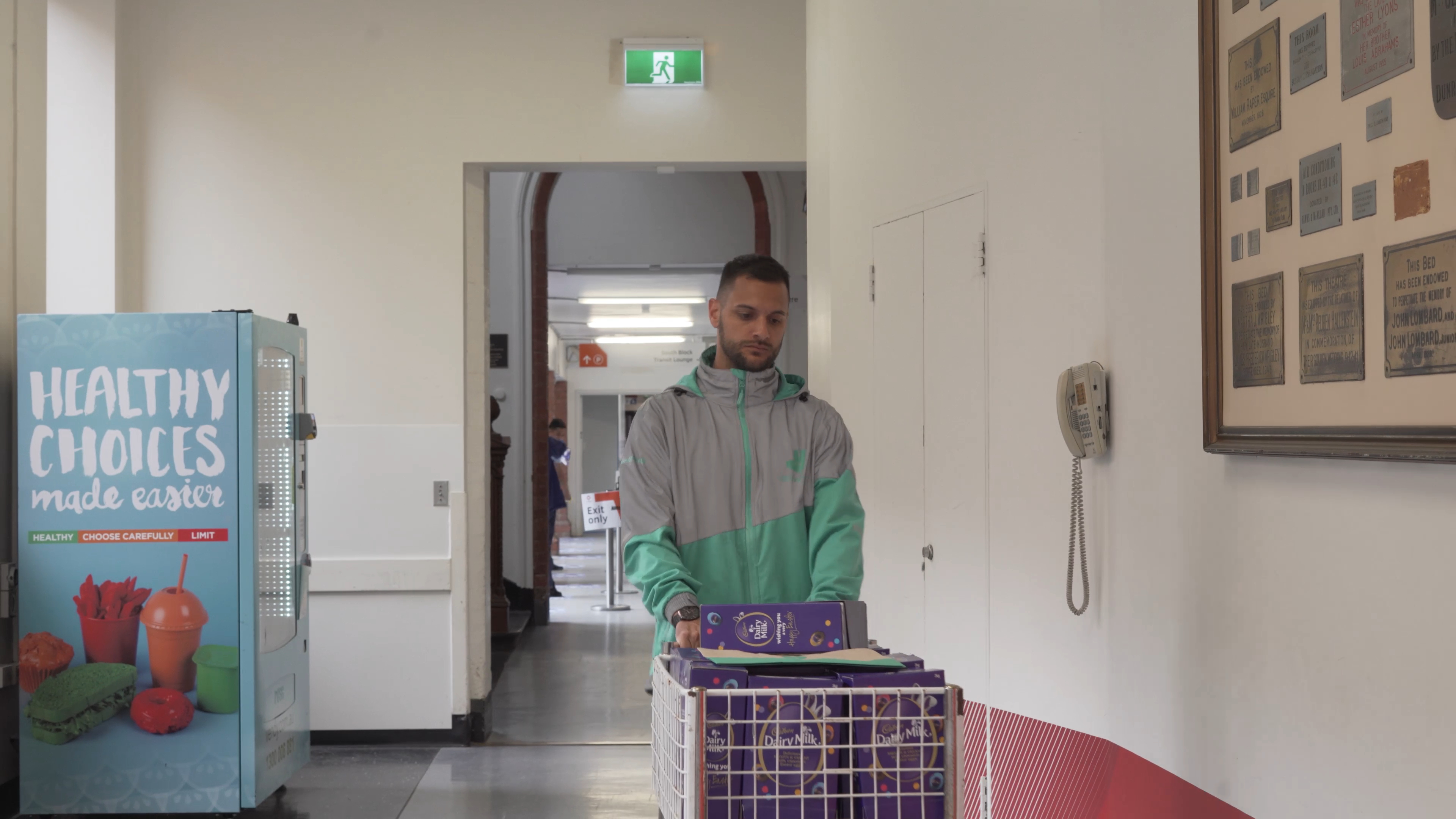 Cadbury and Deliveroo team up to deliver chocolate eggs to hospitals
