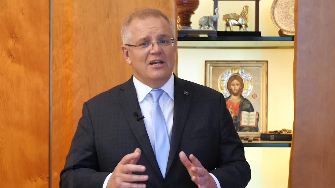 Coronavirus: Scott Morrison delivers Easter message