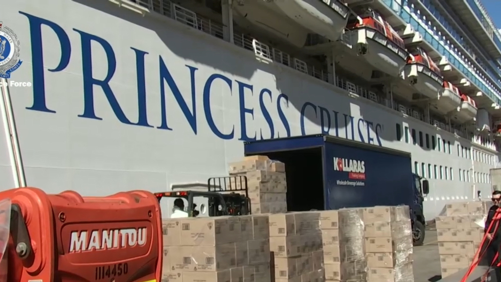 Coronavirus: Cases spike aboard the Ruby Princess