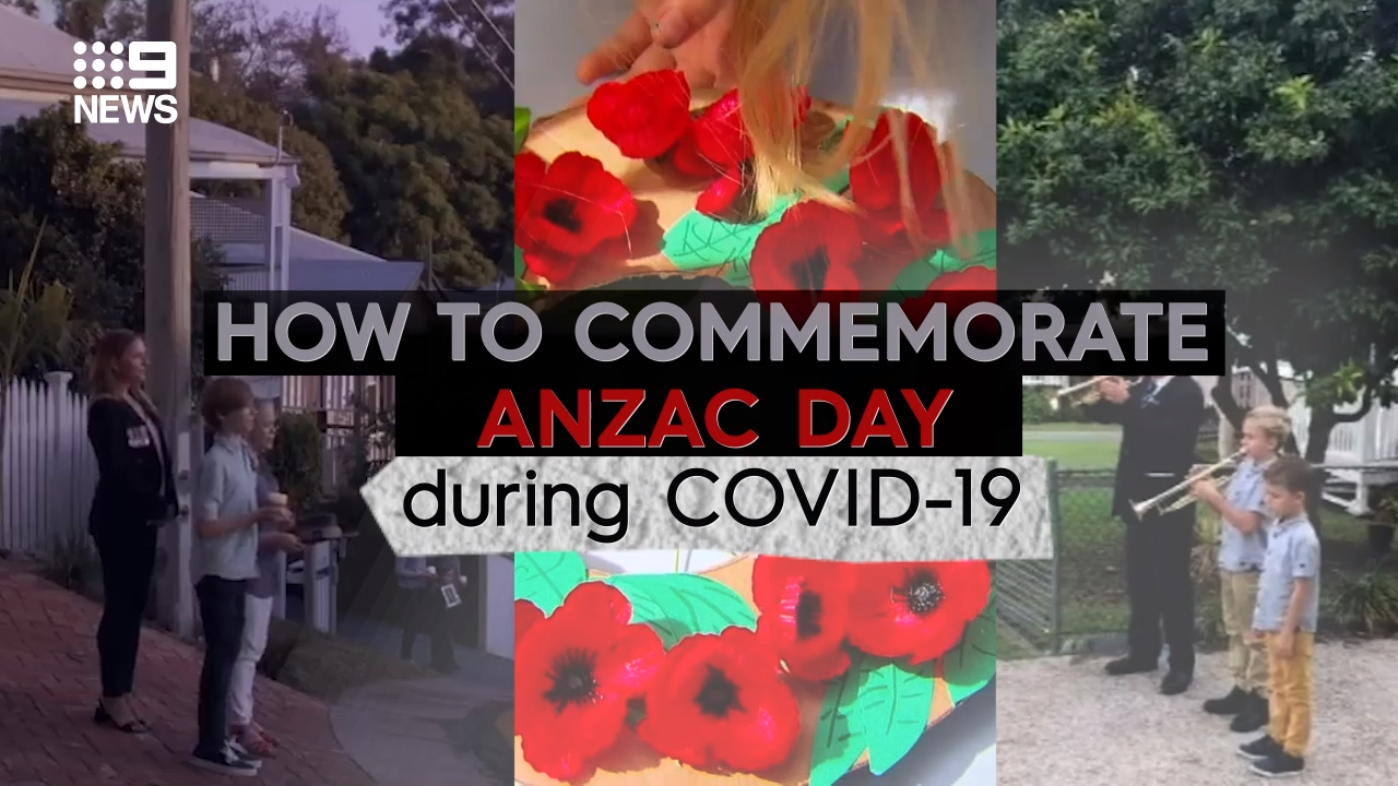 How to commemorate Anzac Day during the coronavirus pandemic