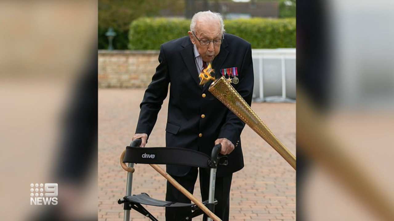 UK's Captain Tom to be honoured with knighthood