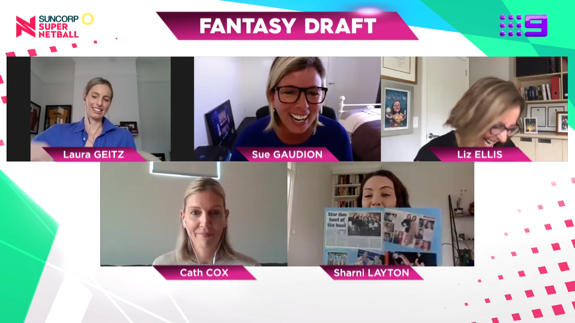 Picks 6-8: 2020 Super Netball Fantasy Draft